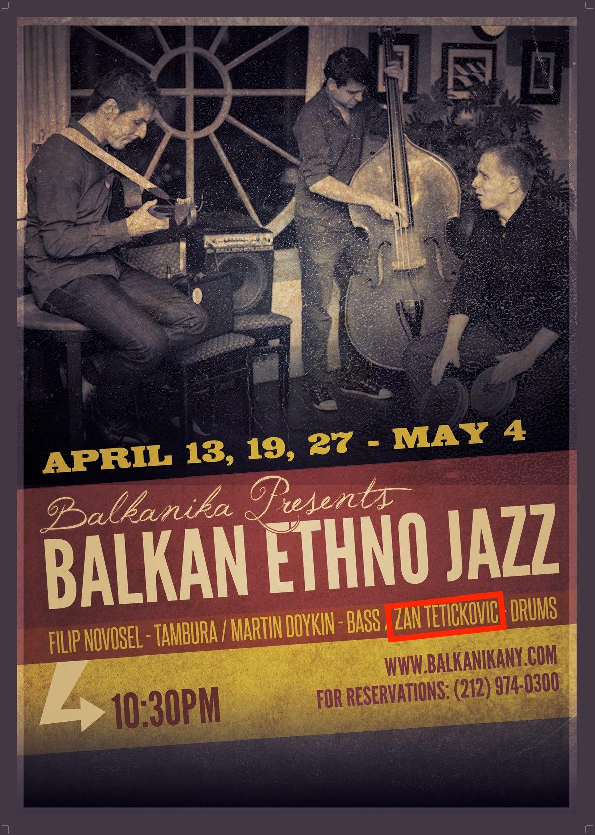 Balkan Jazz Trio : Balkanika (NYC, USA) : (April 2013).jpg