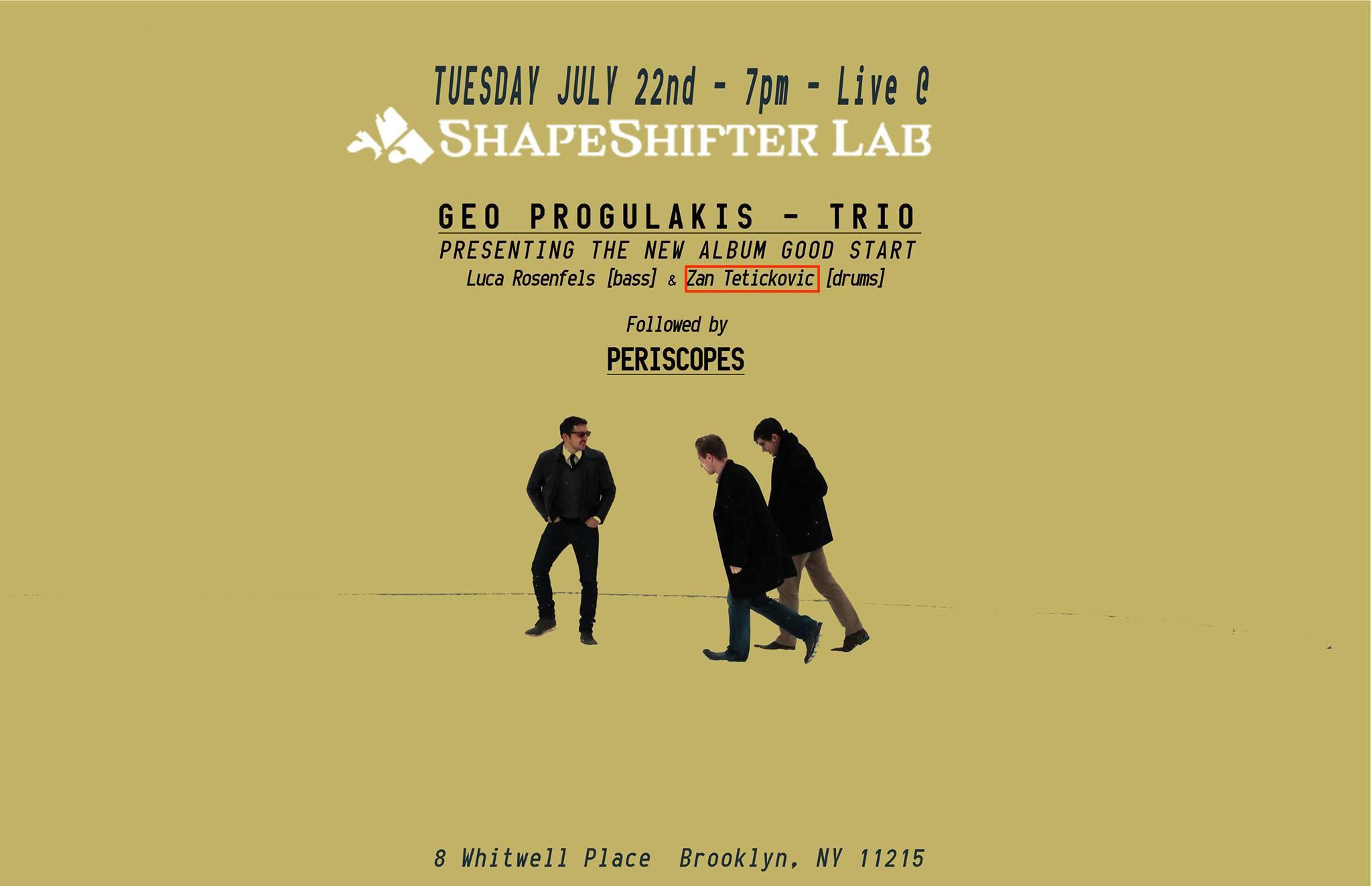 Geo Progulakis Trio : Shapeshifters Lab (Brooklyn, NY) : (July 22 2014).jpg