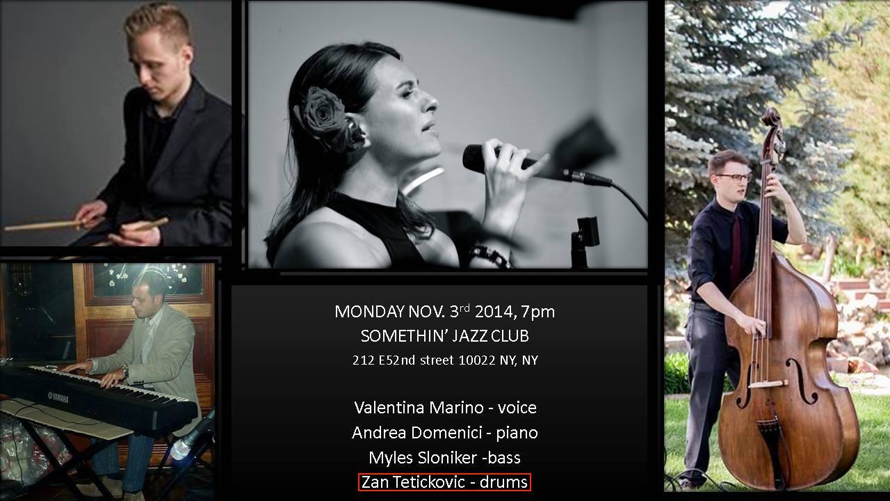 Valentina Marino : Something jazz club (NYC, USA) : (November 3 2014).jpg