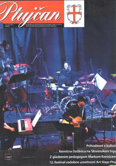 On cover of Ptujčan - 31. 6. 2014