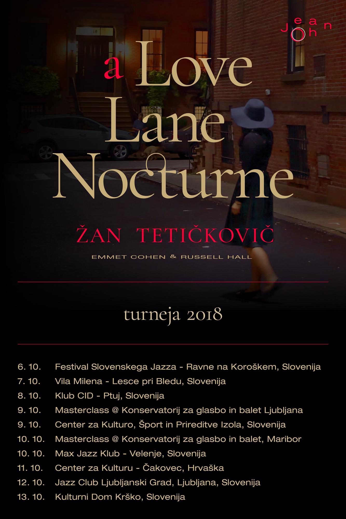 Žan Tetičkovič %22The New Standars Tr:o : General Tour poster : (Oct 6-13 2018).png