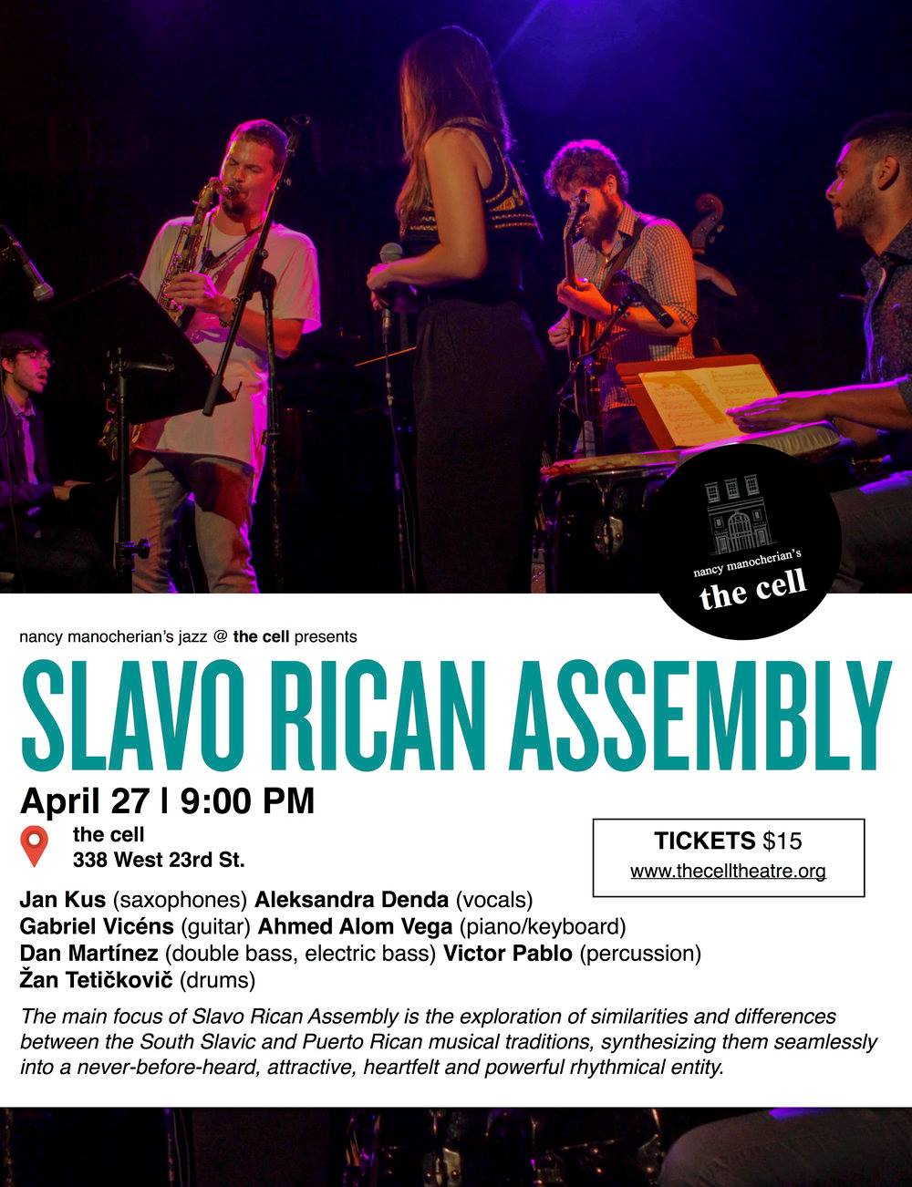 Slavo-Rican Assembly (poster), April 27th 2019 The Cell.jpg
