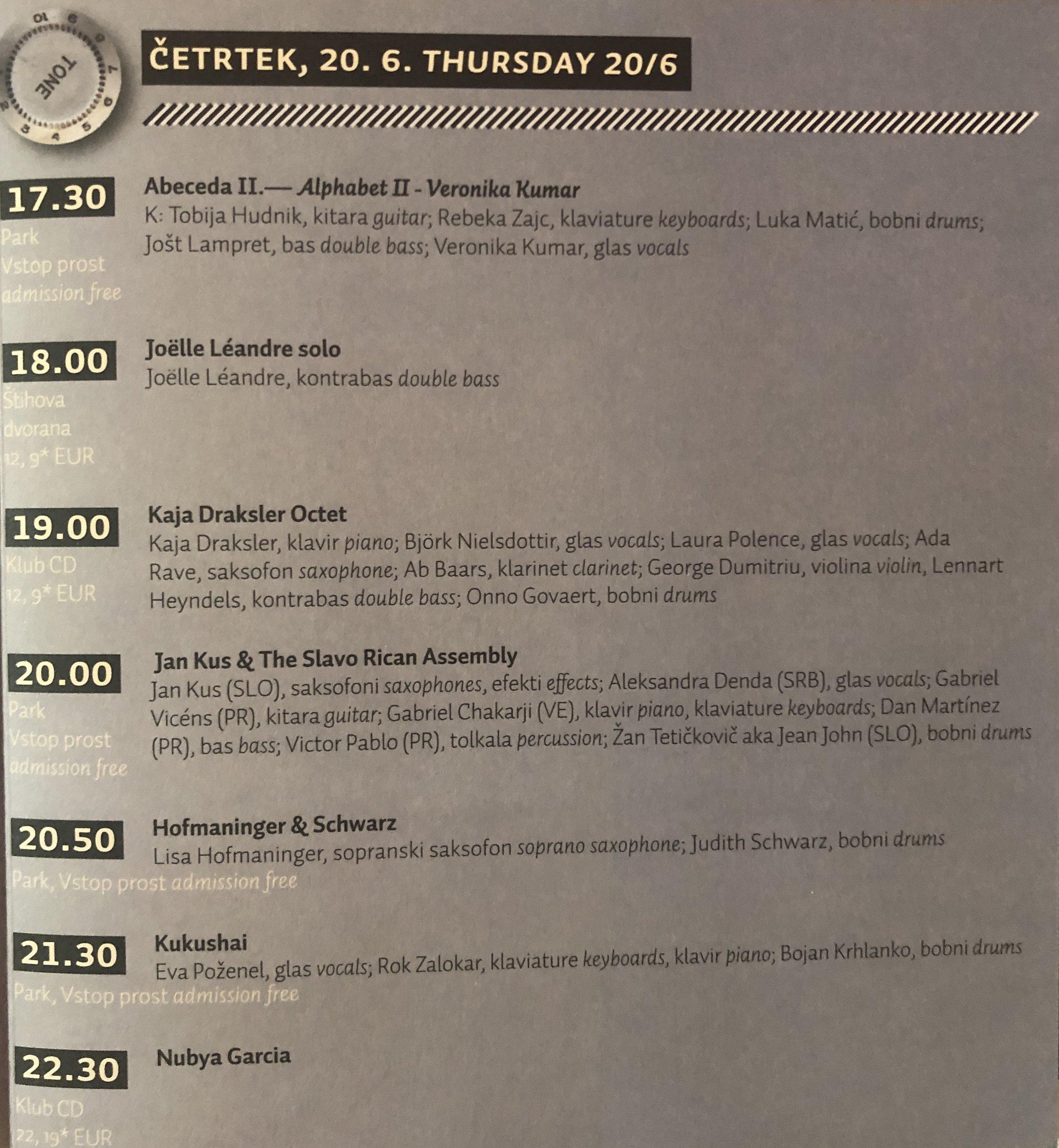 Jan Kus & Slavo-Rican Assembly : Jazz festival Ljubljana (June 18th 2019).jpg