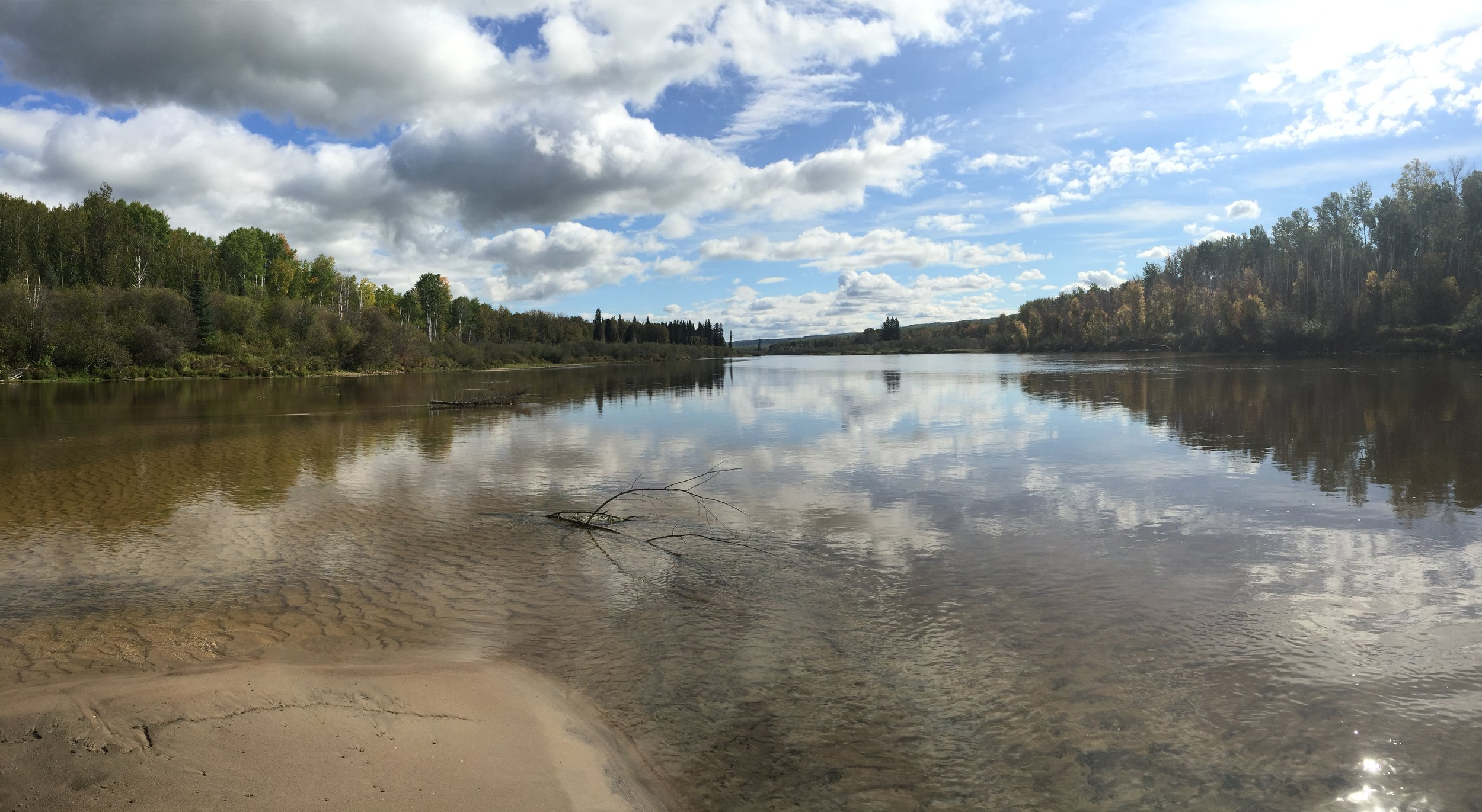 Clearwater River near Fort McMurray, Alberta