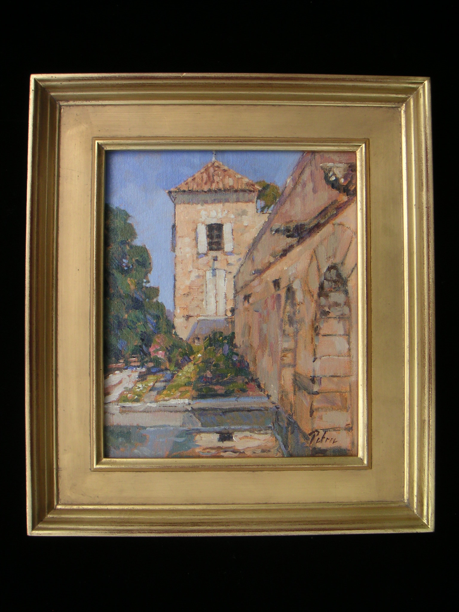 Plein Air Study for Monastery in Provence