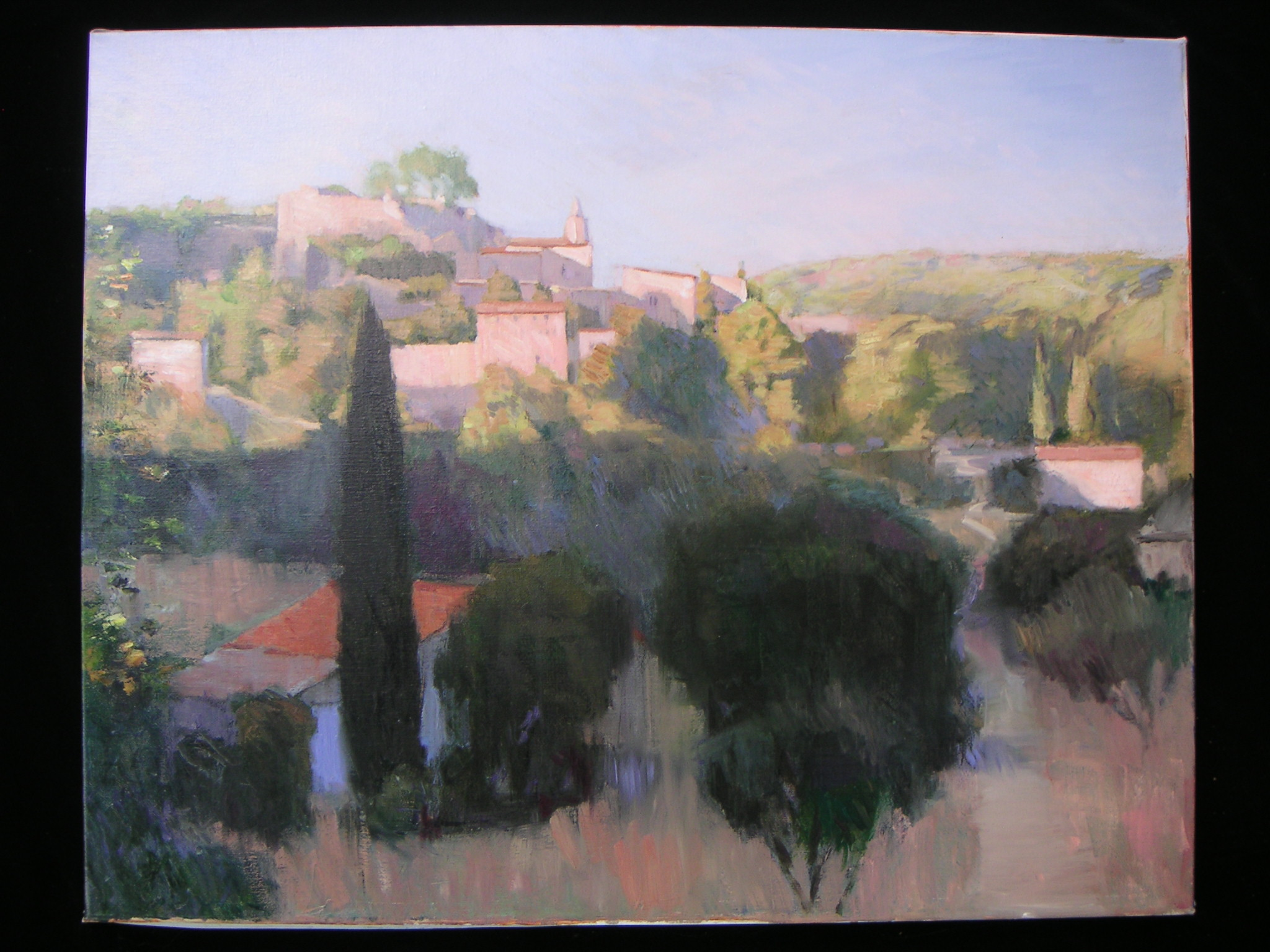 Provence Village Morning Light