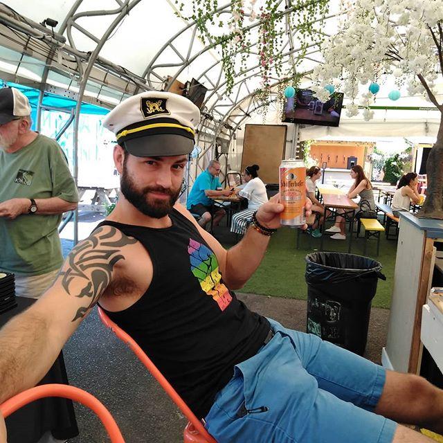 """""""Aye Aye #captain...beer taps engaged!  #beer #beergarden  #sunnyday #instaphoto #pictureoftheday #districtofcolumbia #friends"""