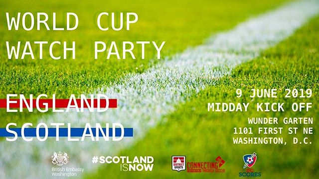 ⚽️🍺Join us to watch England vs. Scotland on Sunday with @ukinusa!! ⁣🍻⚽️⁣ ⁣⁣ ⚽️Proceeds will go to support  @dc_scores ⚽️