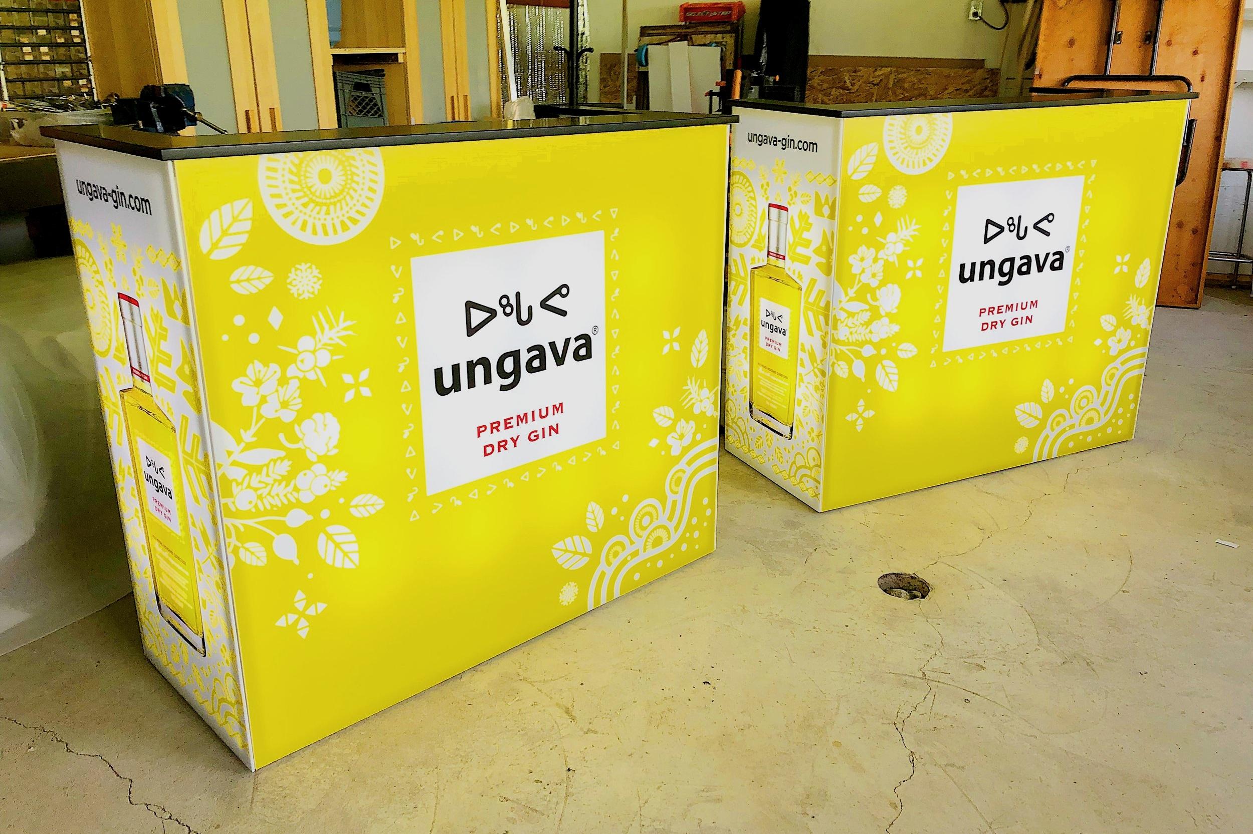 Comptoir de service - UNGAVA
