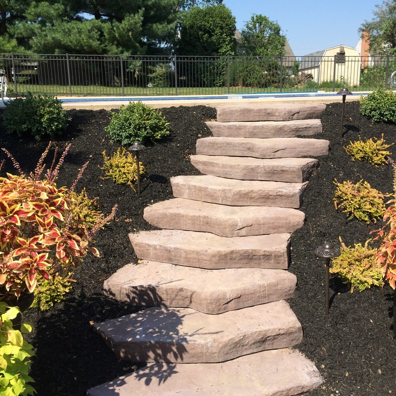 Steps and patio in Lititz, PA