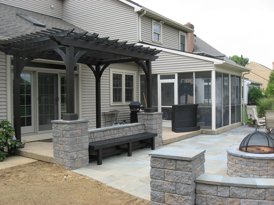 Landscape construction by professional landscaping company in Lititz, PA