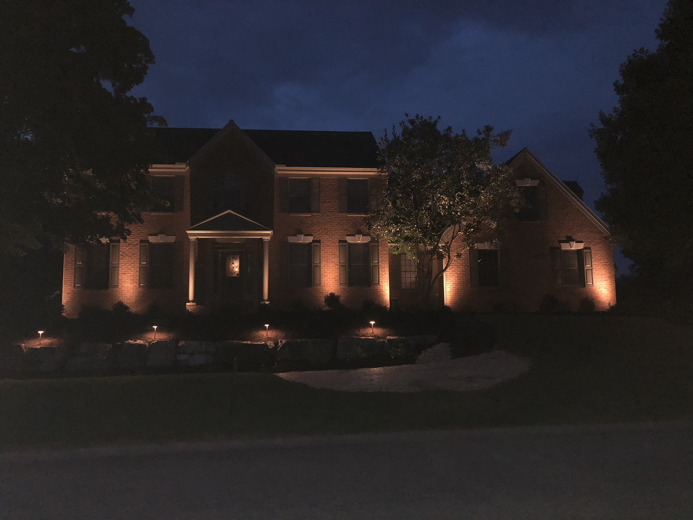 Ambiental landscape lighting in Lititz, PA