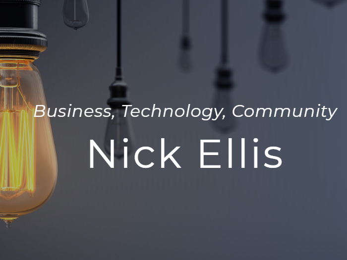 Nick Ellis - Click to visit Nick's portfolio site, including a CV and information about Nick's work with charities and schools in Kent.