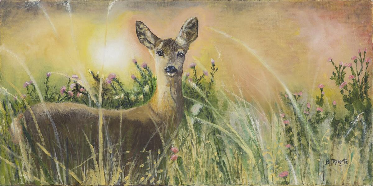 03-Bobbie Roberts, Wildlife Oil Painting, Asheville NC-002.jpg