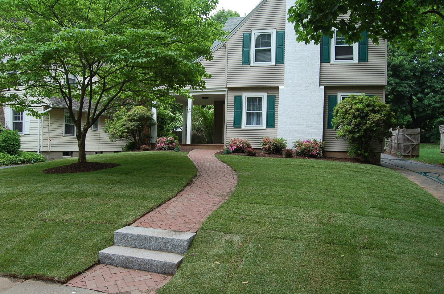 Landscape company for lawn installation in Newington, CT