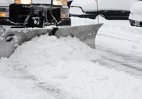 Commercial snow & ice management in Newington, CT