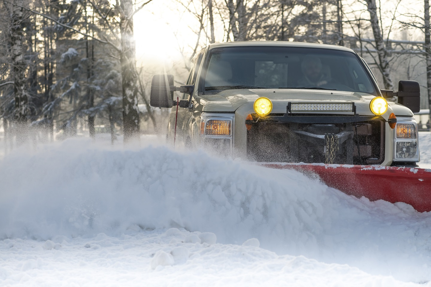 Commercial snow removal in Newington, CT