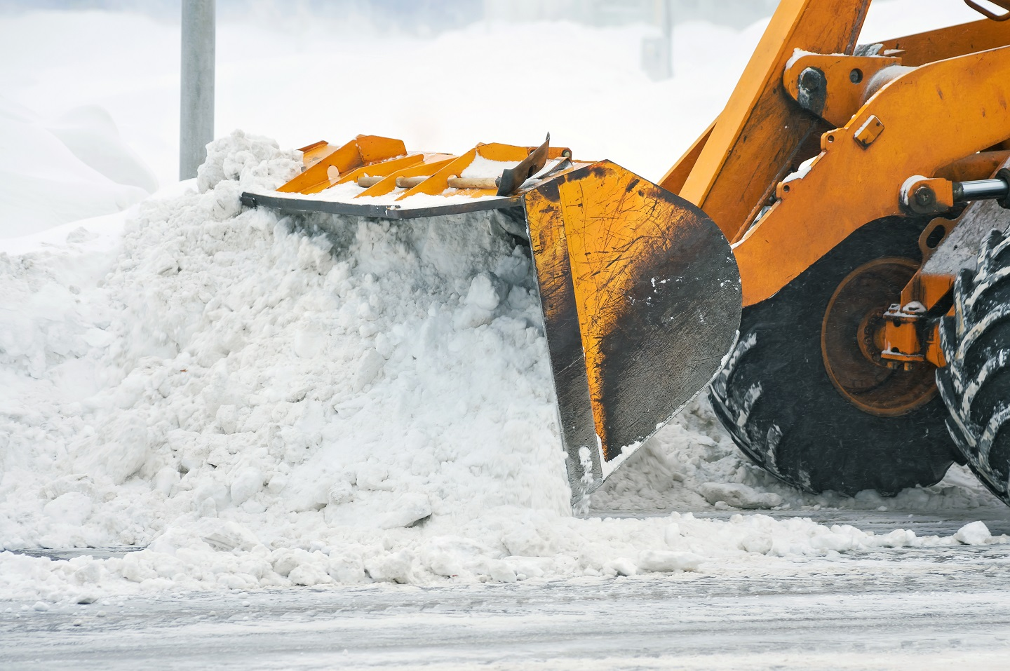 Commercial snow services in Newington, CT