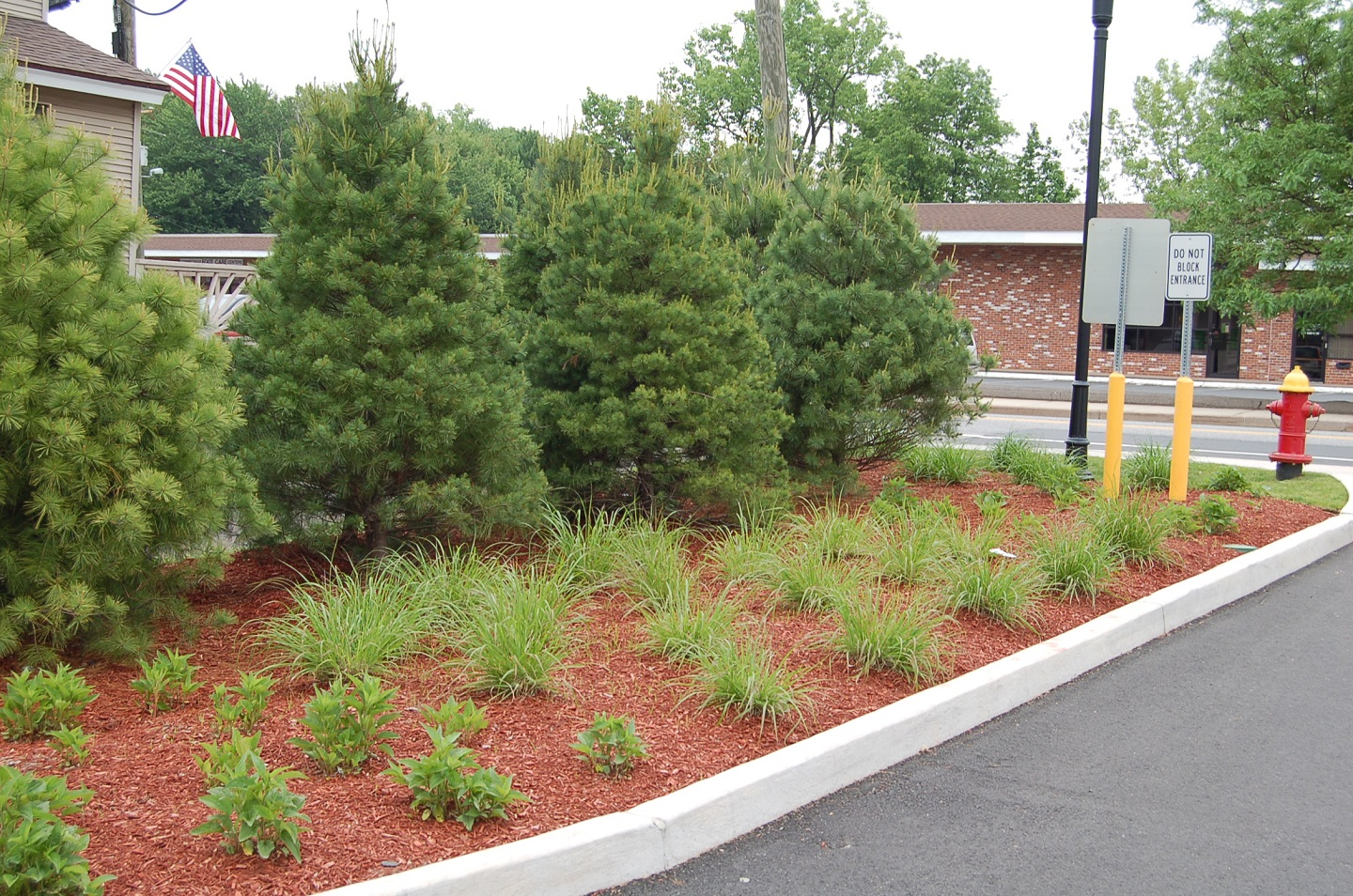 Commercial landscape construction in Newington, CT