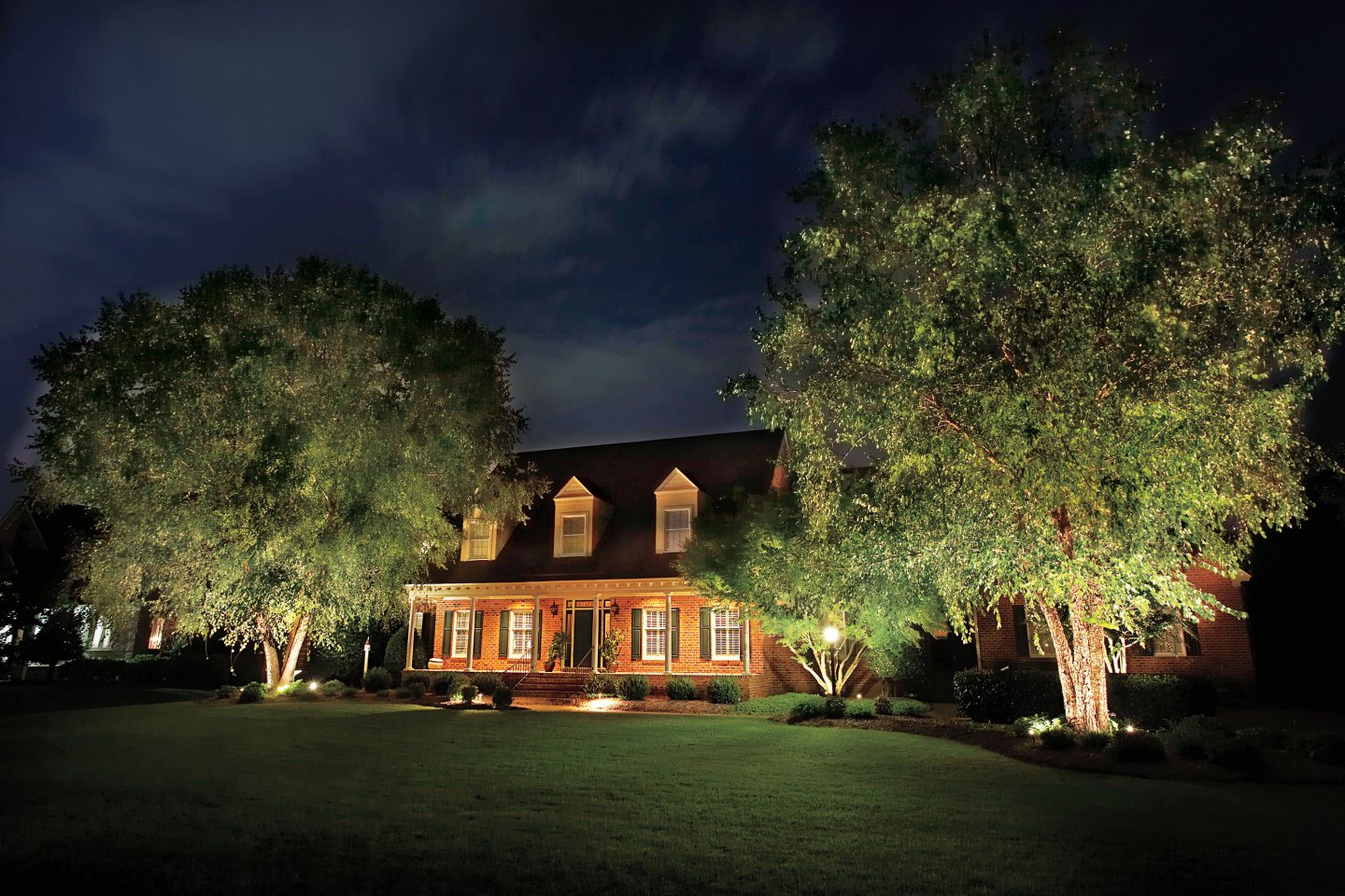 Newington, CT landscape company for outdoor lighting