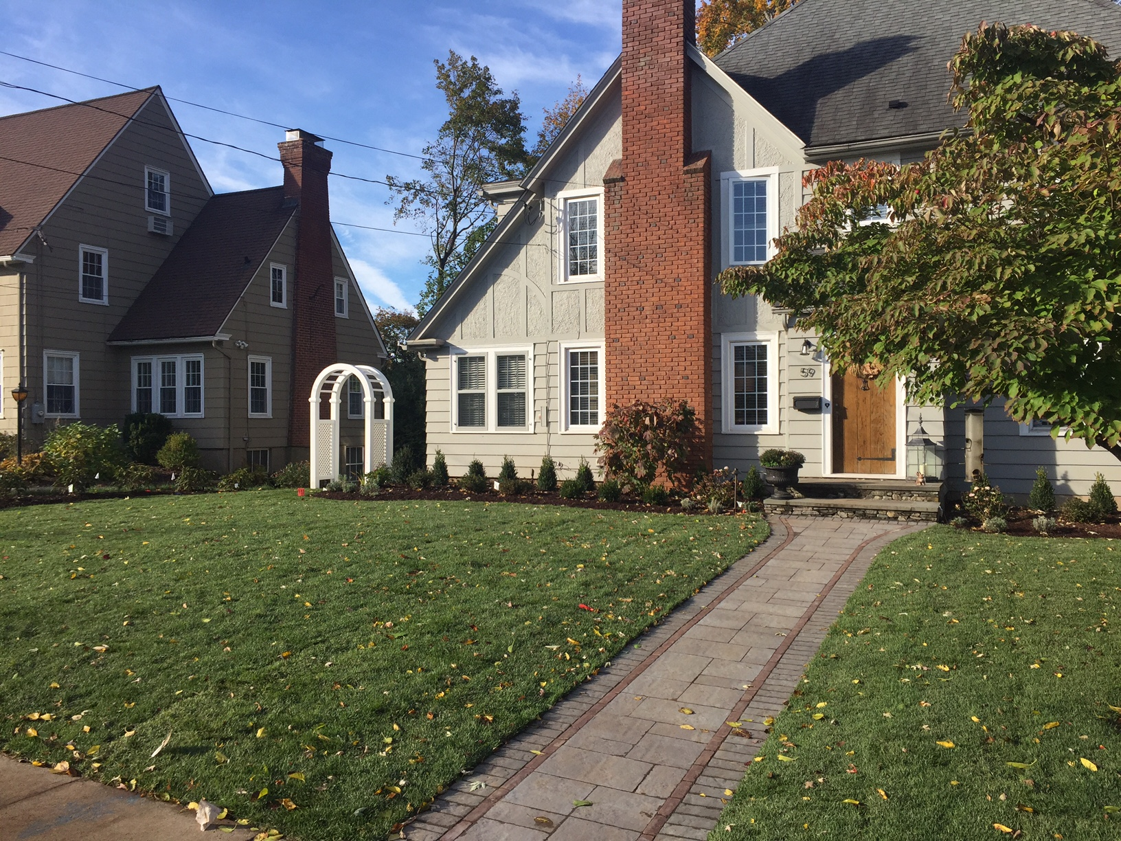 Landscape Design Installation In Newington Ct Birch Hill Landscape Design