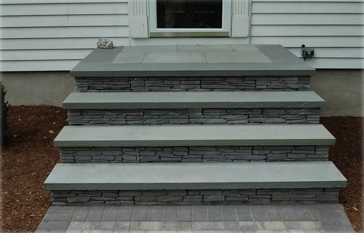 Walkways and steps in Newington, CT - after
