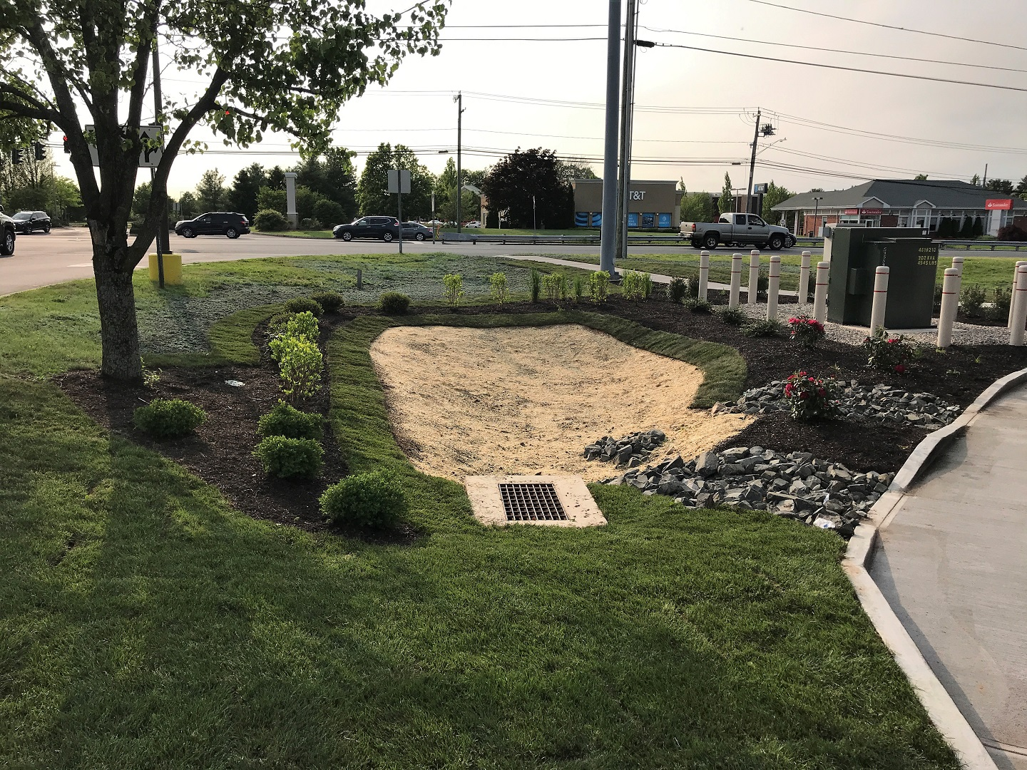 Commercial landscape design in Newington CT