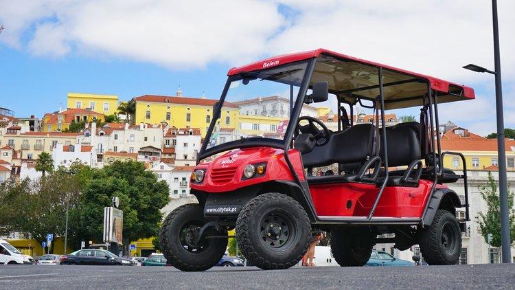 Buggy elétrico - Buggy by CityTuk é o novo conceito ecológico em Lisboa. Uma aventura ecológica na cidade das 7 colinas a bordo de um dos nossos Buggys 100% elétrico.