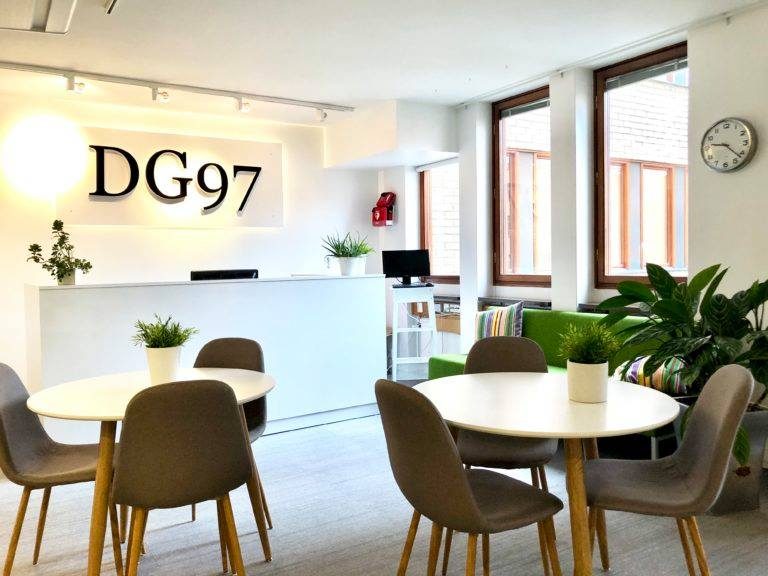 Välkommen till kontorshotellet DG97.