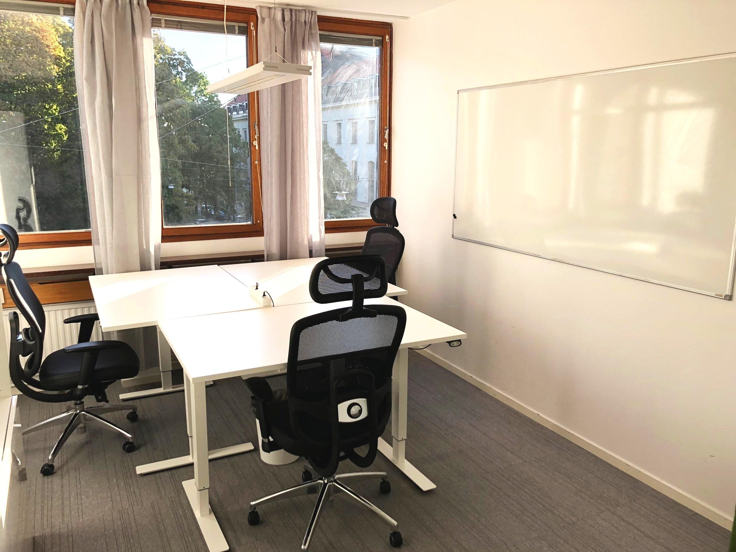 Kontorshotellet DG97 i Stockholm City.