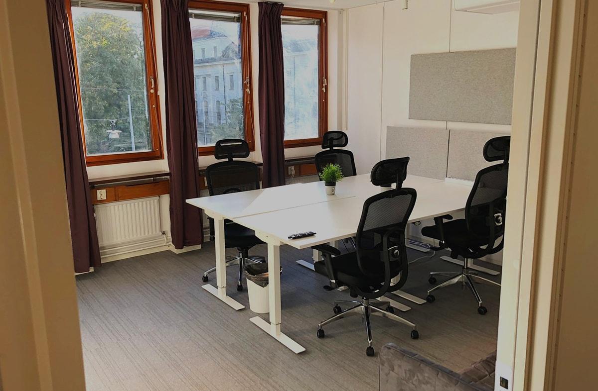Konferensrum - 2 konferensrum med plats för 8 personer