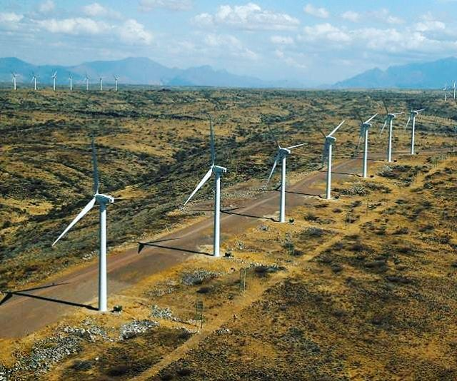 The largest wind power plant in Africa is now live in Kenya! Kenya is one step closer to reaching their 100% renewable energy goal by 2020! Currently 70% of Kenya's electricity is renewable! The potential for renewable energy in Africa is exponential! . . . #SDG7 #power #sustainability#PjT #greenenergy #electricity #renewable #economy#education #projecttsehigh #africa #Kenya #innovation #windpower