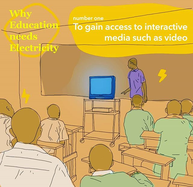 It's back to school season!👨🏿‍🎓👩‍🎓 Over the next weeks we'll be highlighting how electricity can enhance and improve education. ⚡Do you remember the feeling of seeing your teacher bring in the TV to class and you knew it was going to be a stress-free video time? 🖥️🎥📺 Digital Media such as videos are a great way to change the pace of the classroom and create a more dynamic learning experience.📚 With clean electricity, students in rural communities can learn from videos through demonstrations and contextualizations. 💡 . . . #SDG7 #power#economy #sustainability#PjT #educationneedselectricity #projecttsehigh #education #SDG4 #learning #educationaccess #electricity #energy #cleanenergy #academic #school #tanzania #development