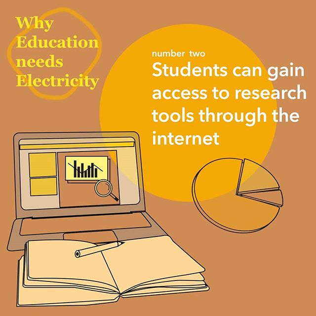 The world is moving at a faster pace then ever! Students are now accessing information and knowledge from the tips of their fingers. 💻It is crucial for education programs to have access to online research tools not only to stay updated on the latest articles, but for students to develop important research skills.📚 We need to close the education gap for those without access to clean electricity.💡 #educationneedselectricity . . . #SDG7 #power#economy #sustainability#PjT #greenenergy #education #schools #socialaction #solarenergy #sustainable #development #growth #energy #action #academic #learning #research #access