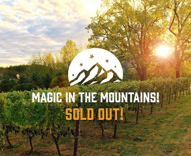 Magic in the Mountains 2019 is officially SOLD OUT! We're looking forward to sharing some incredible wines with everyone here in the Chehalem Mountains on Saturday! 💥🍷🔥 Featured Wineries/Vineyards: @adelsheim @alloro_vineyard @anneamiewines @bergstromwines @chehalemwines @coleneclemens @coopermountainvineyards @elkcove @flaneurwines @frejacellars @hawksviewwinery @hazelferncellars @lachini_vineyards @lecadeauvineyard @longplay_wine @ponzivineyards @pottersvineyard @raindancevineyards @raptorridgewinery @rexhillvyds @rocowinery @rubyvineyard @tresorivineyards @vidonwine Finnigan Hill Vineyards . Delicious Food by: @emberandvine @thenewbergundianbistro @subterrarestaurant and Jory at the @allisoninnspa . . . . . #chehalemmountainsava #chehalemmountains #wvwines #willamette #willamettevalley #oregonwine #orwine #oregonwinecountry #oregonpinot #orpinot #pinotnoir #chardonnay #winetaste #gowinetasting #wineweekend #wineandfood #winetasting #magicinthemountains