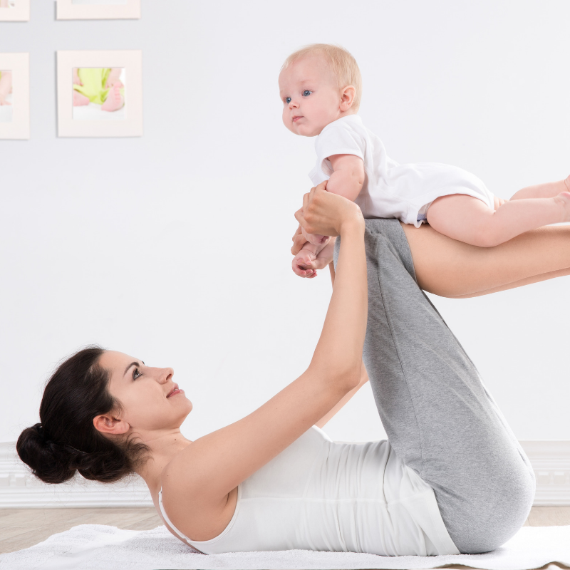 POSTNATAL - Receive a safe postpartum workout and meet new mom friends.