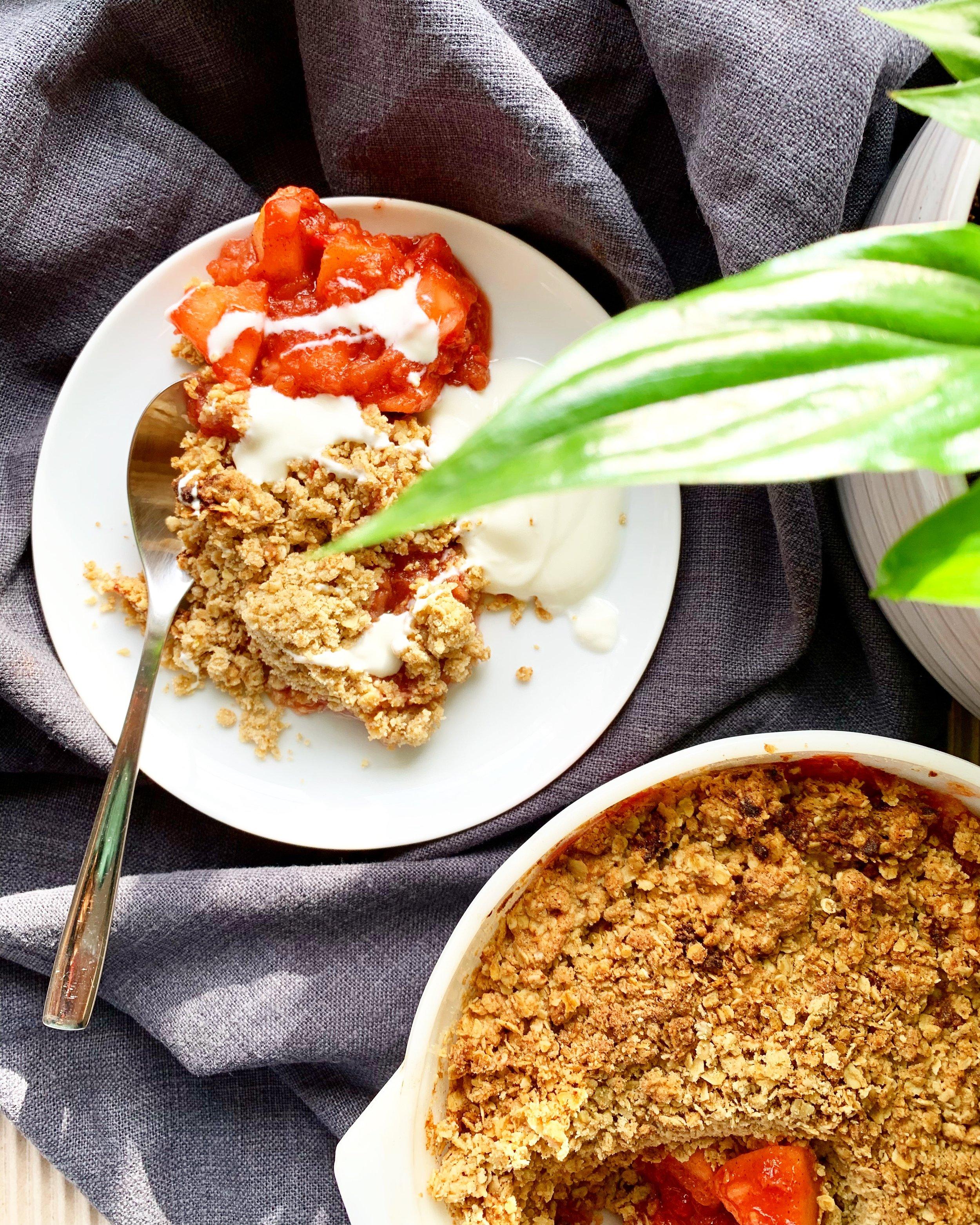 Buckwheat Apple Porridge - Gluten free