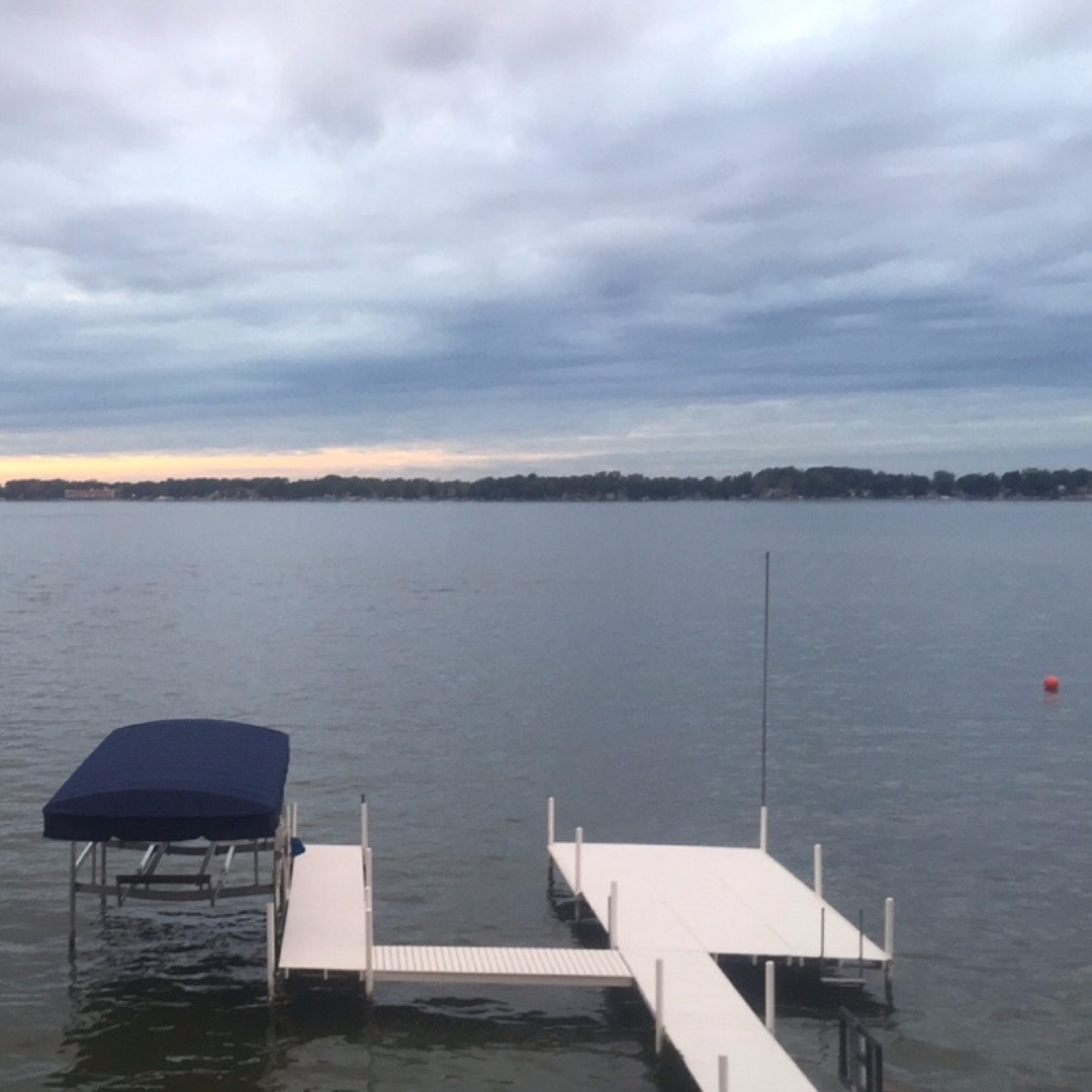 Pier Painting - Pier painting for lakes across Indiana and the Midwest