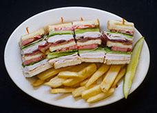 JAMO'S CLUB SANDWICHES