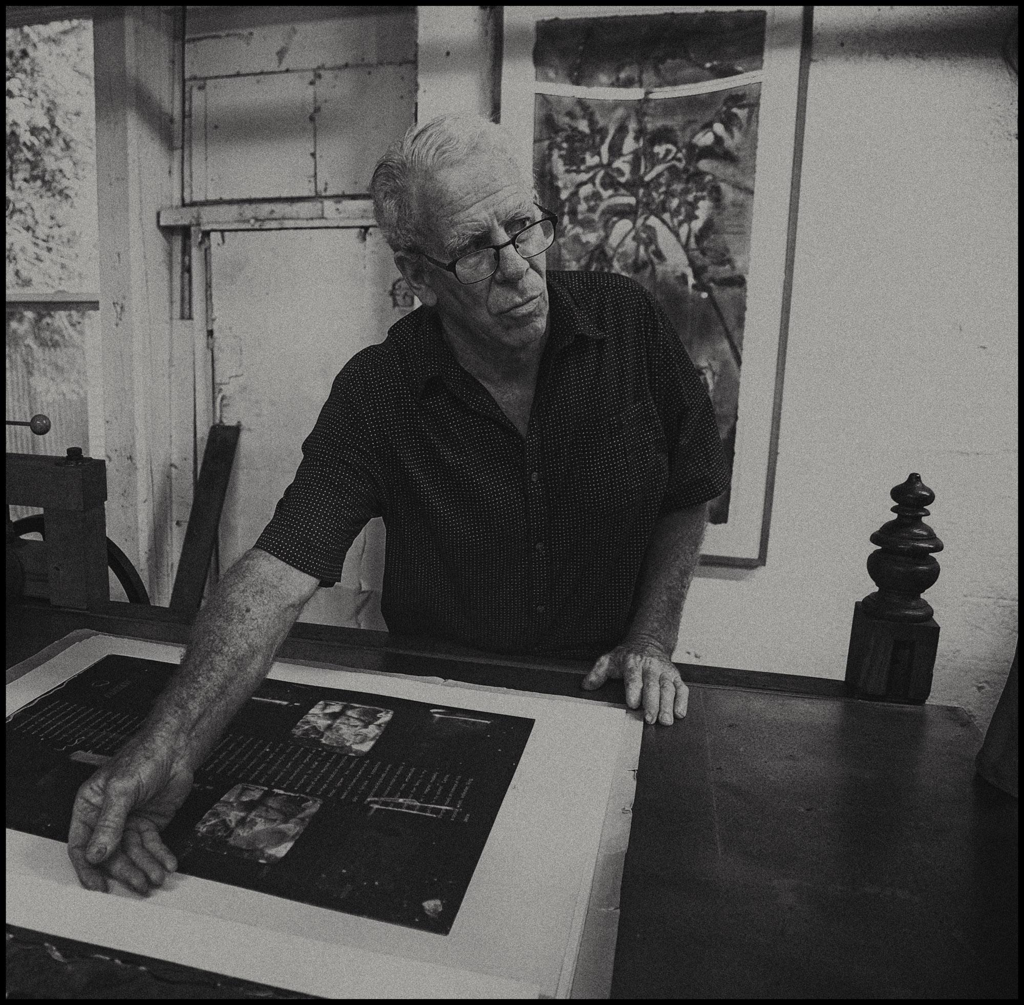 Greg Shattenberg in Studio by Jan Pieter van Voorst van Beest