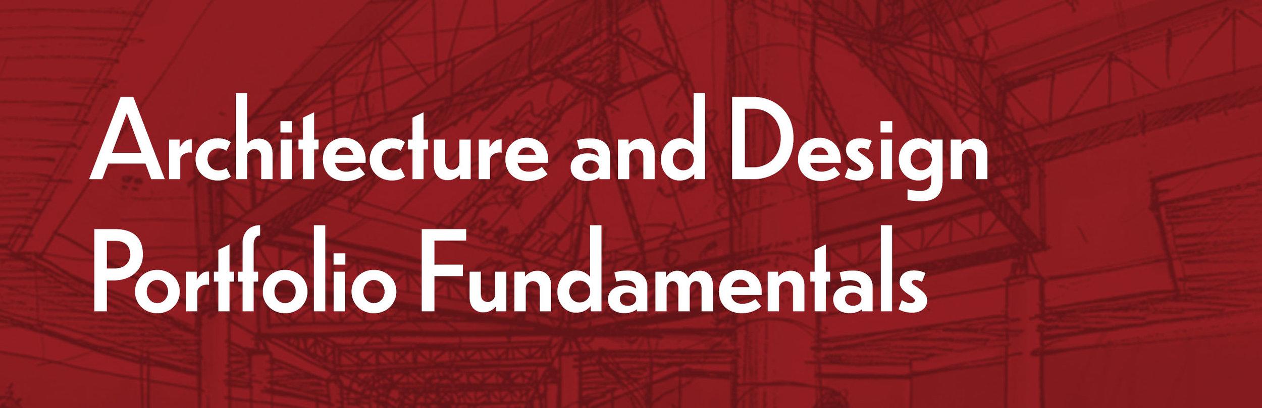Architecture and Design Portfolio Fundamentals- Header 2019.jpg