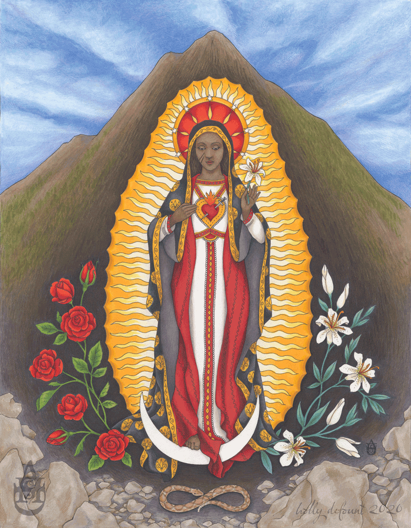 The Madonna of Black Butte