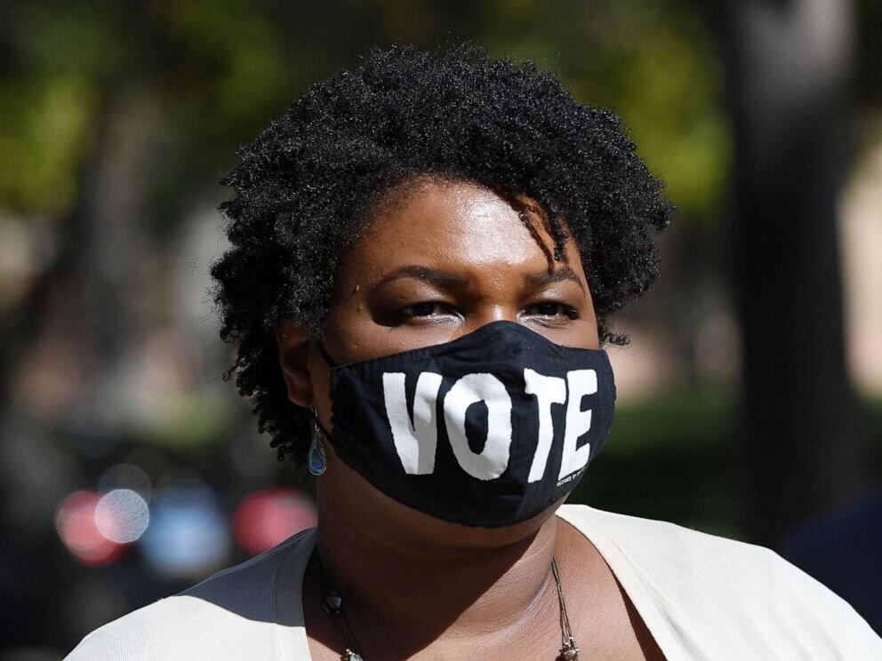Former Georgia gubernatorial candidate Stacey Abrams, photo by Ethan Miller/Getty Images