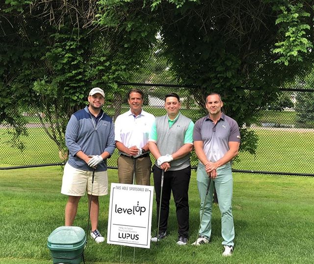 Happy Friday! Time to hit the links⛳️ - - - Our team was proud to sponsor a hole benefiting @lupusorg!