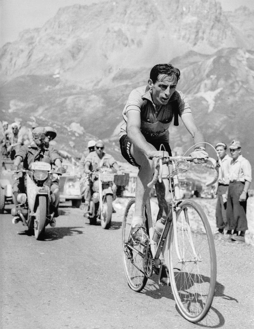 """""""Ride your bike, ride your bike, ride your bike - -Fausto coppi"""