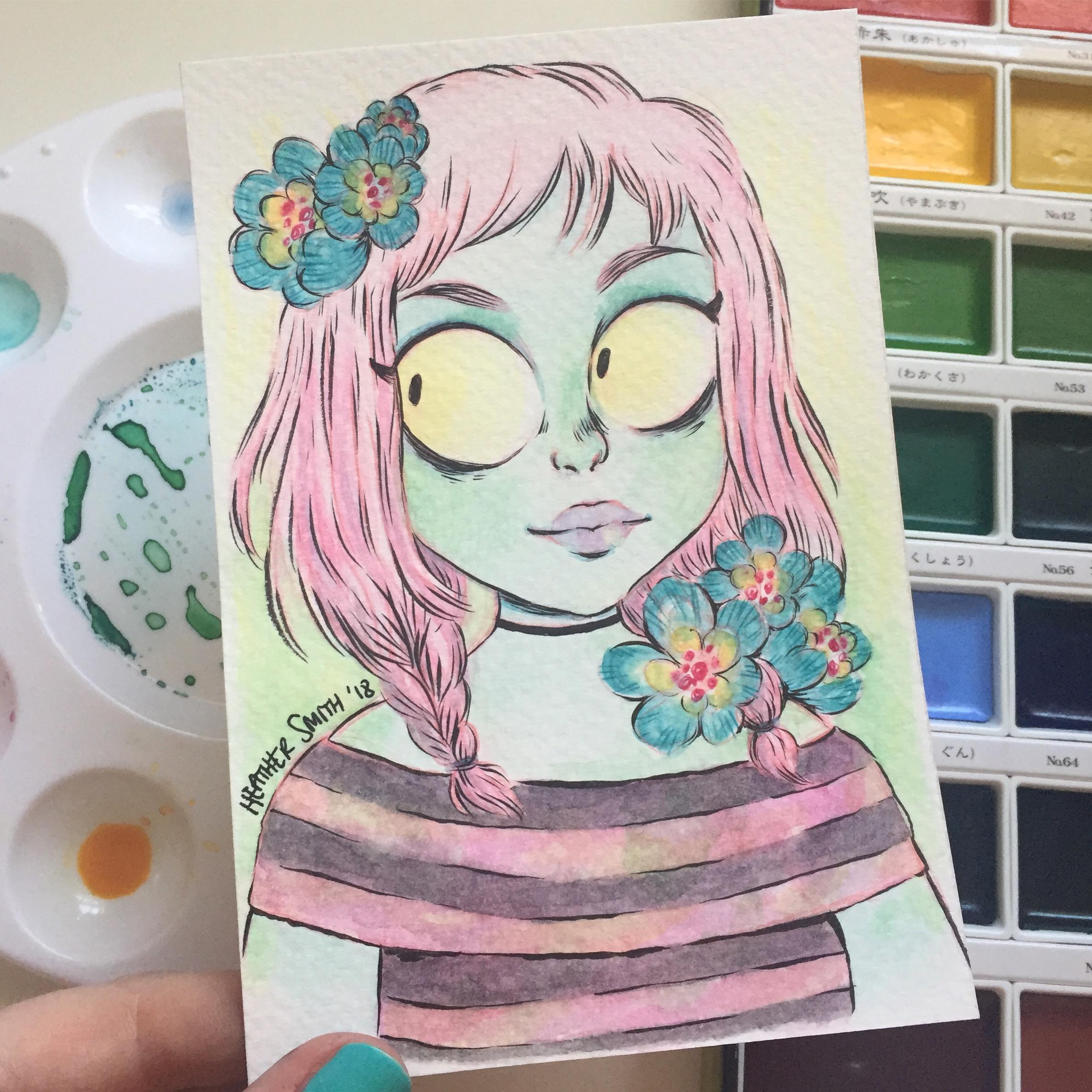 Flower Zombie