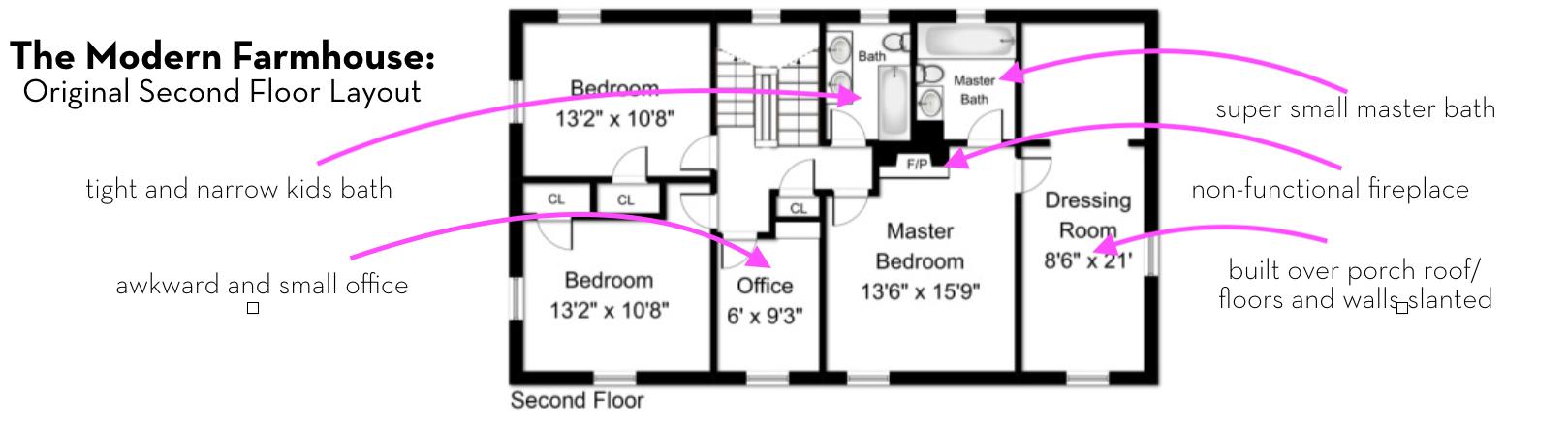 Oakwood Orignial Second Floor Layout.png