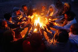 huddled-around-fire