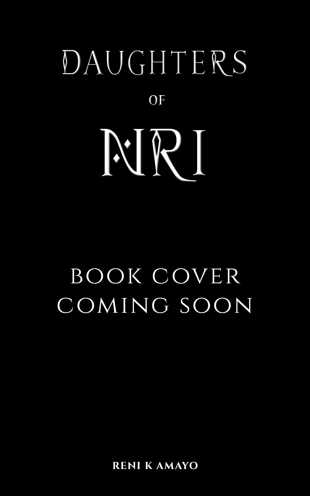Watch this space! Daughter's Of Nri's Book Cover reveal is coming soon!