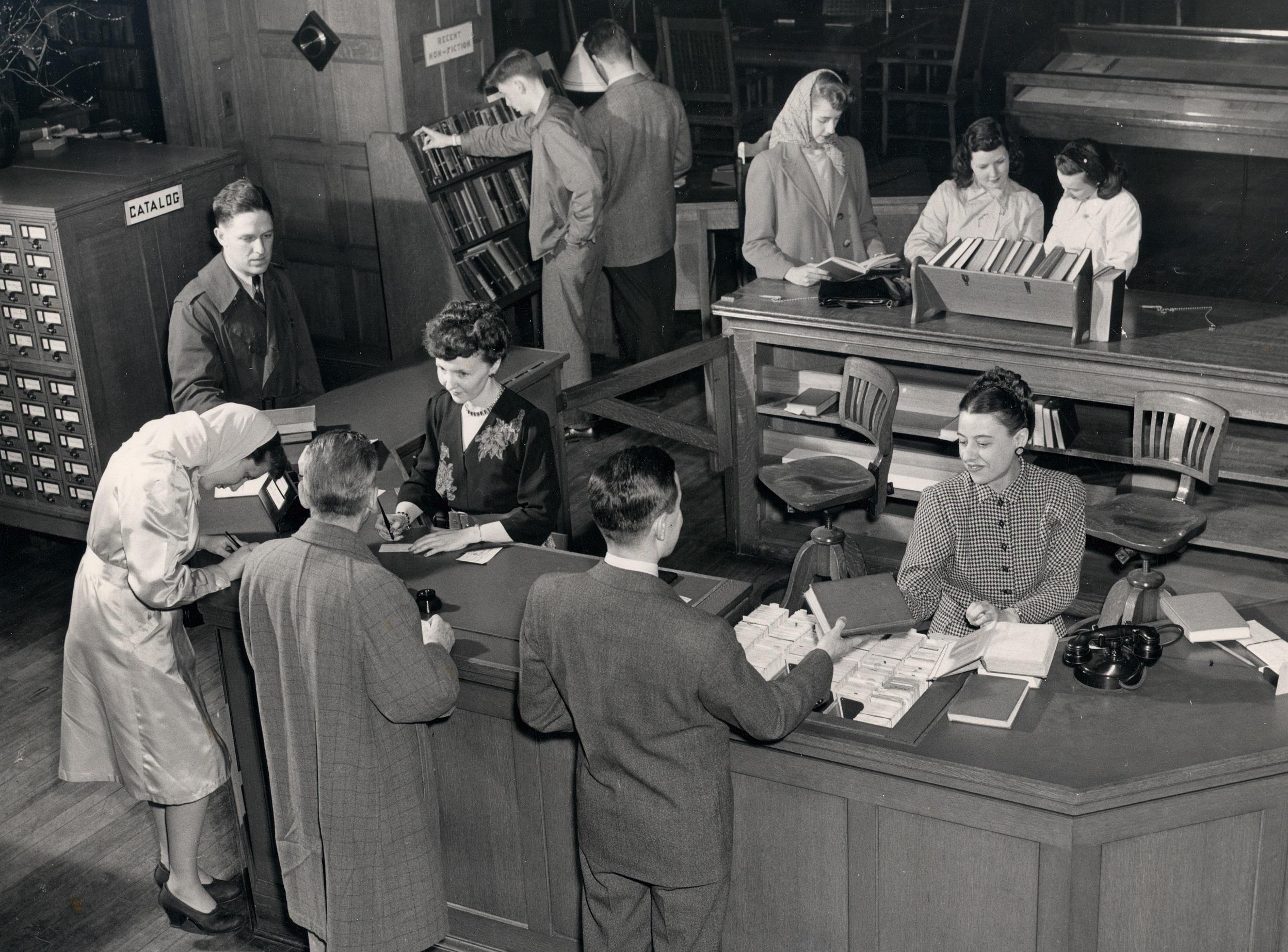 Berkshire Athenaeum, circa 1940